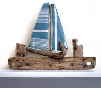 Driftwood Boat Lobster Pot