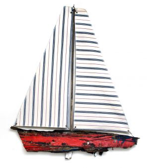 Driftwood Boat Dunbar Fishing Boat No 5 Side 1