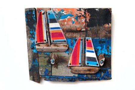 Driftwood Boat P7